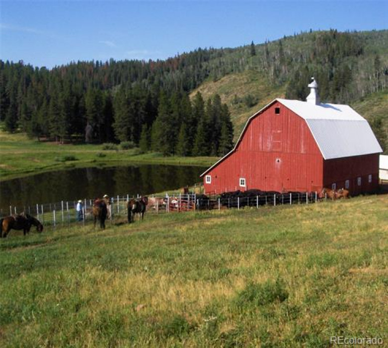 Big Creek Ranch--4,850 +/- acres nestled in a private valley north of Steamboat Springs.