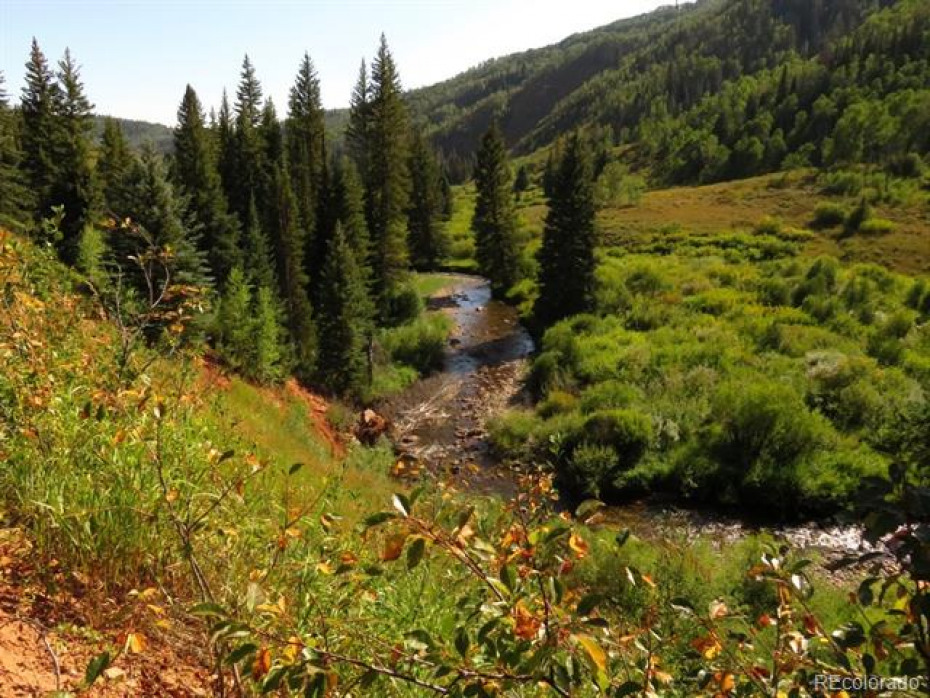 Big Creek - a great trout stream and major tributary to the Elk River - flows for over 6 miles through the ranch.
