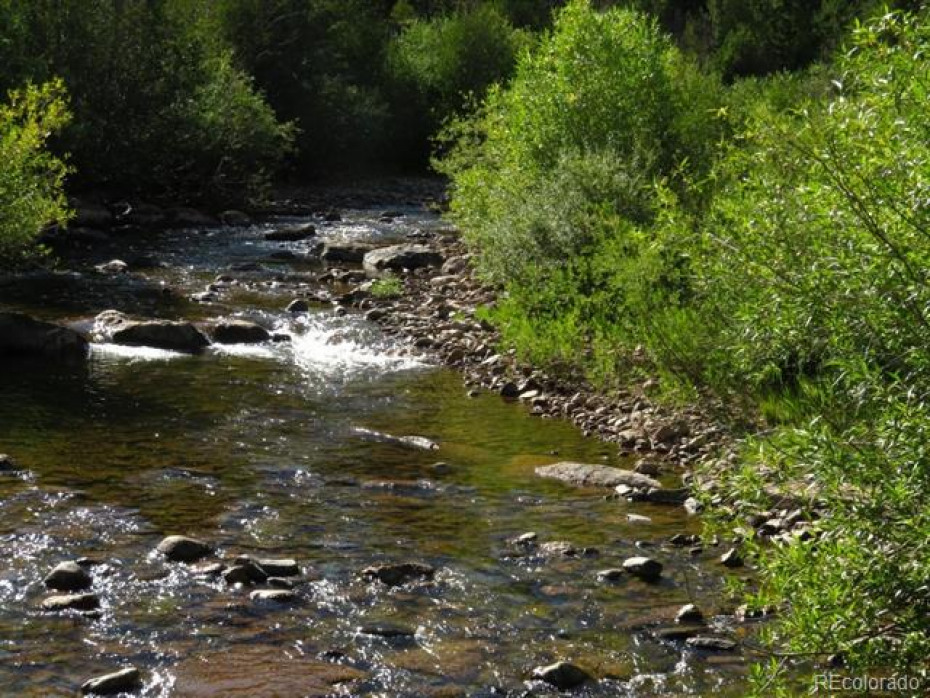 Big Creek, fed by snow melt, springs and several high mountain streams, is cold and clear.