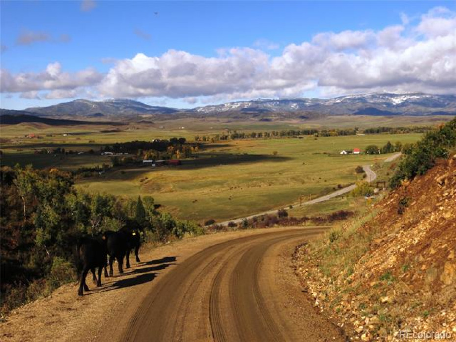 The southern end of the ranch is just under 7 miles from Steamboat Springs.