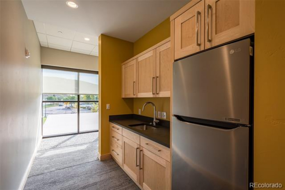 The kitchenette in the Community Room can be used by the tenants as well.
