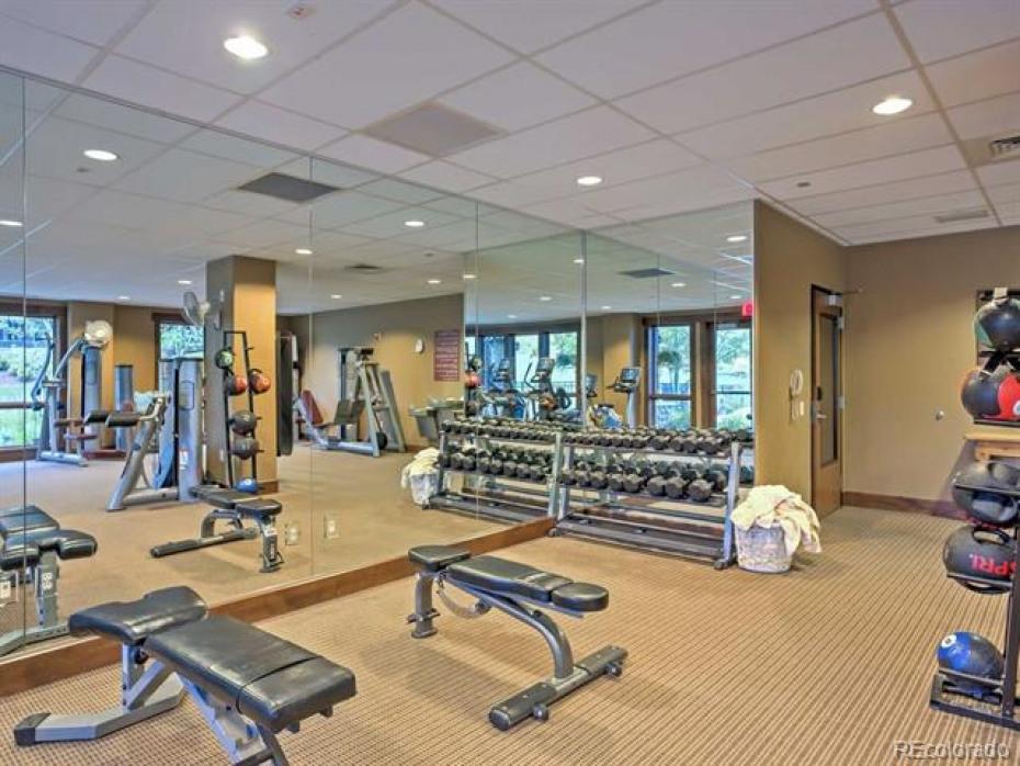 Trailhead Lodge HOA Exercise room Amenities