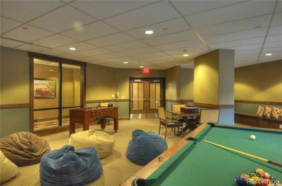 Trailhead Lodge HOA Game Room Amenities