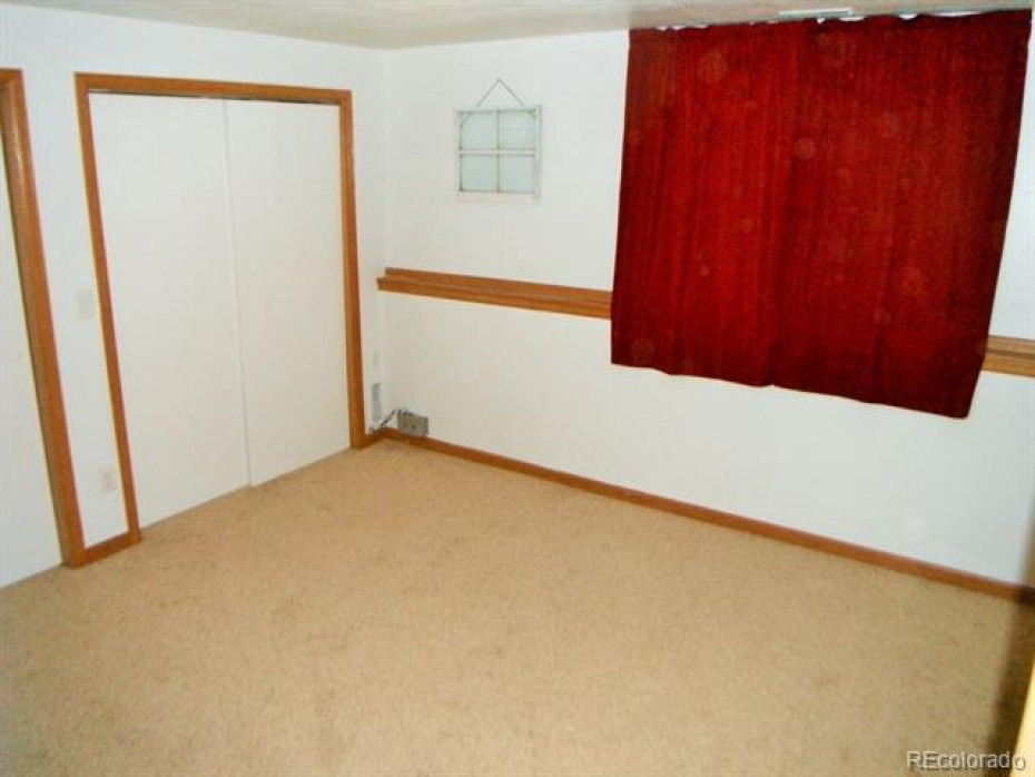 Bedroom #4 also has great windows and view behind curtain, but can be private with curtains as well.