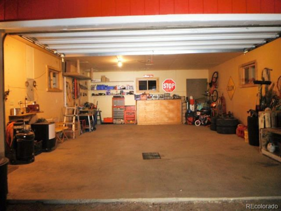 Oversized garage with room for your vehicles and storage, kept in immaculate condition.