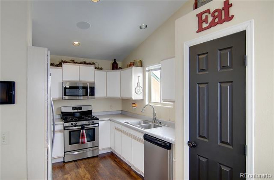 kitchen pantry with built in shelving