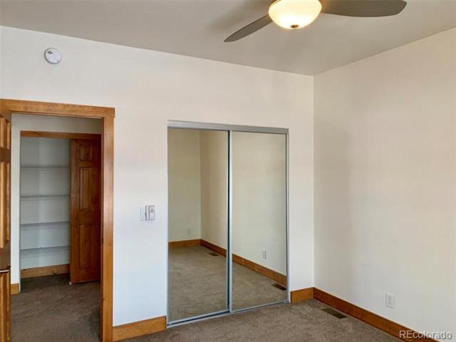 Several large closets.