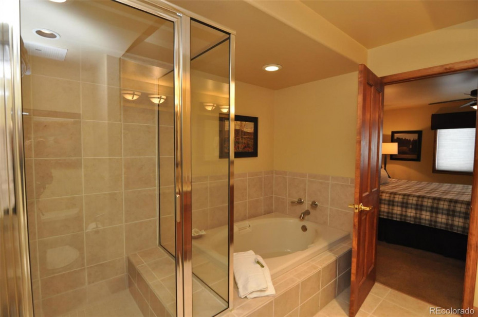 Both bathrooms on the upper level are ensuite and are 5 piece with two sinks.