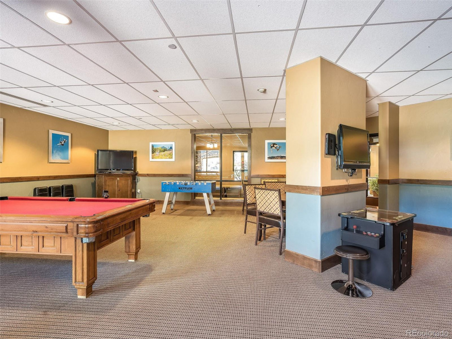 Enjoy game night including pool, fusball and even pac man!