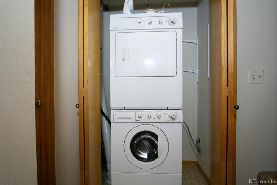 There is a full size hot tub room to left of this laundry. Could be a laundry room.