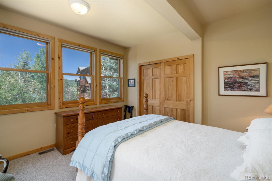 2 Bedroom Lower Level with views and lots of light