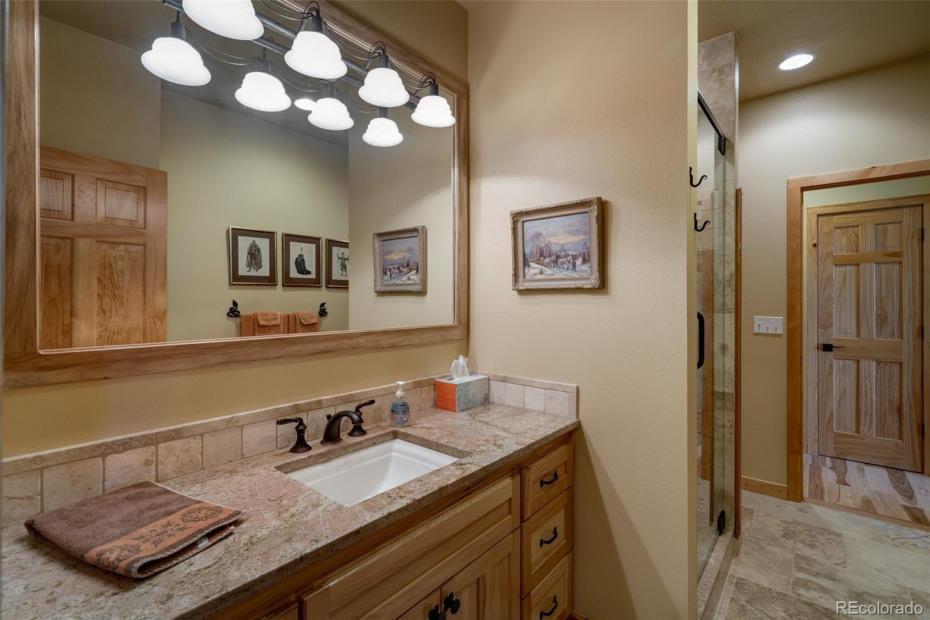 2nd Full Bath  Lower Level