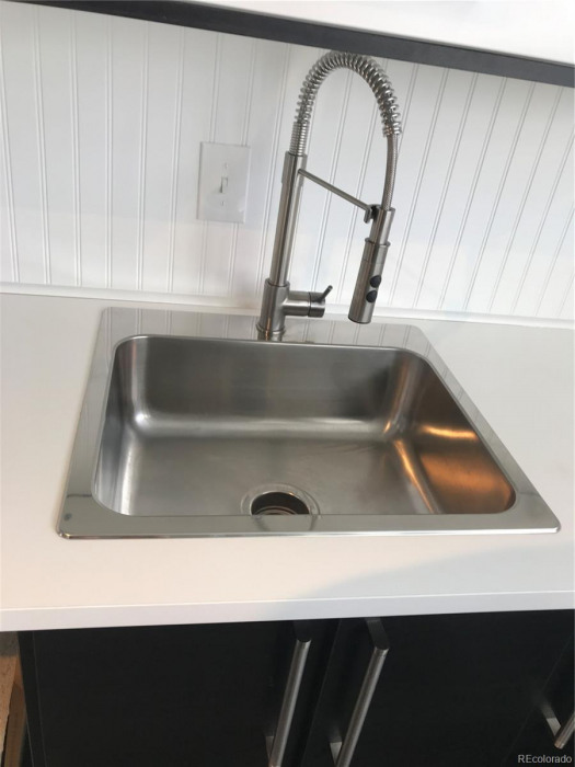 upgraded kitchen faucet