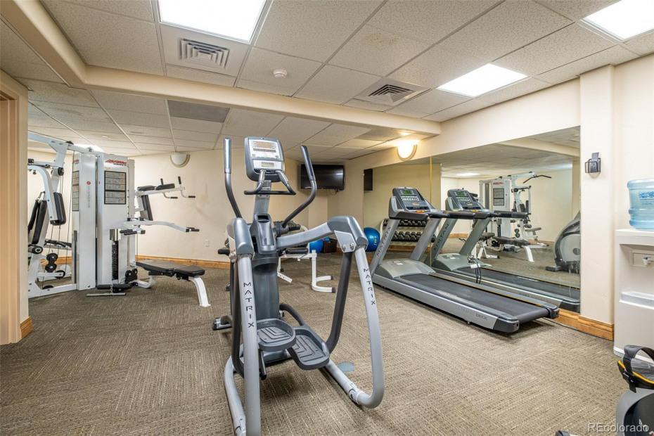 C Building fitness center