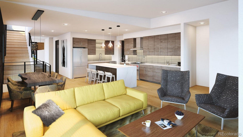 Option: Mountain Eclectic Interior Design finishes