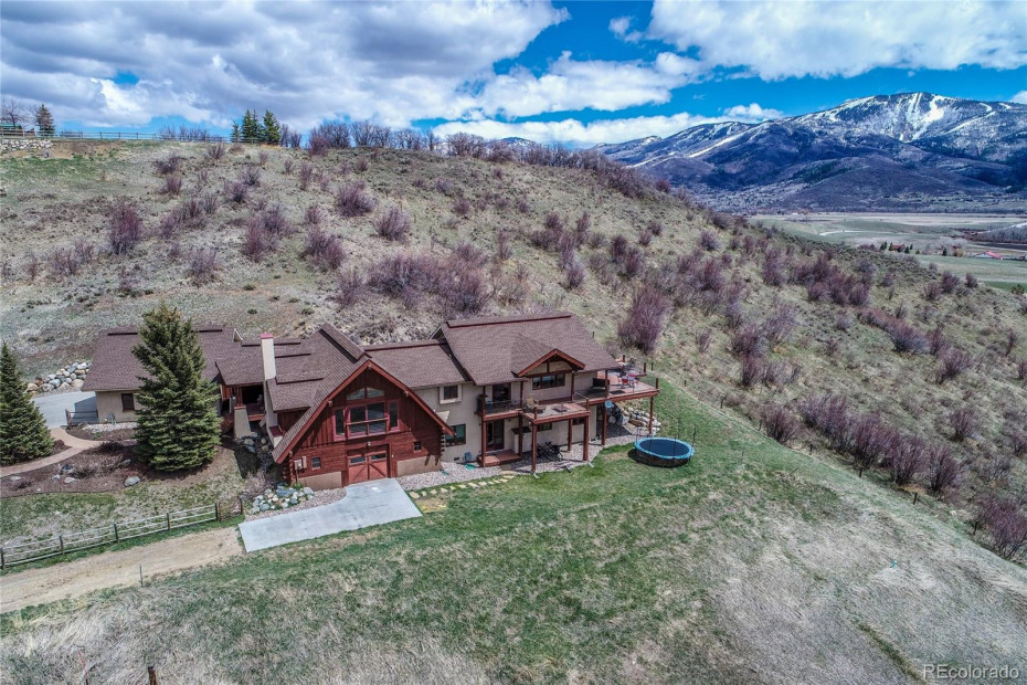 Situated just outside Steamboat City Limits with Ski Area Views