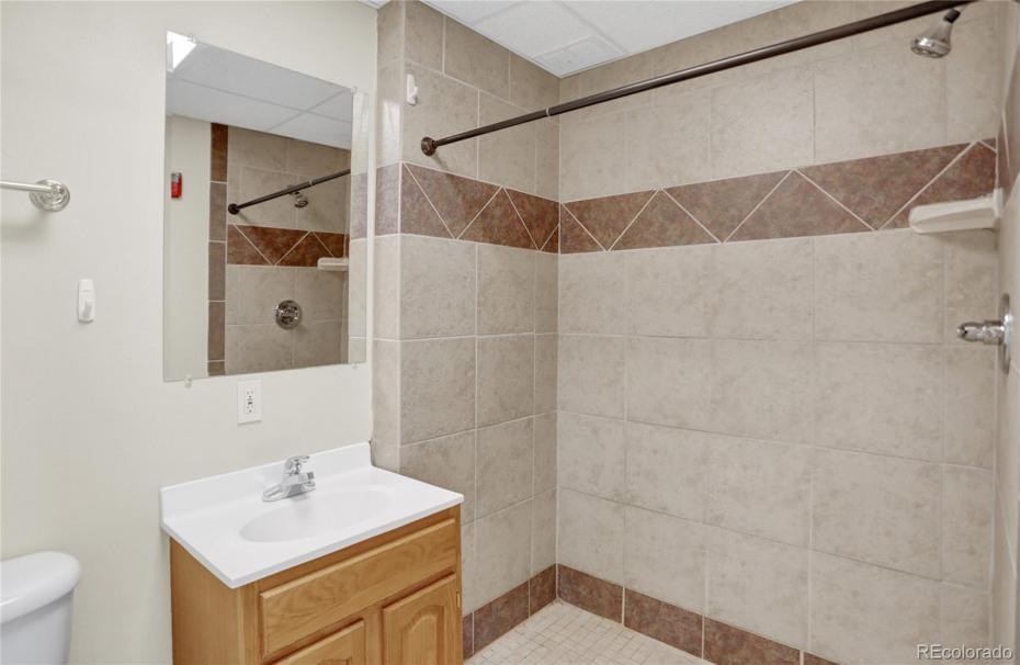 Unit 140  3/4 bathroom
