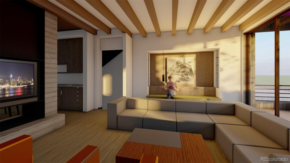 Living Room. Renderings are general representation for marketing purposes only and subject to change.