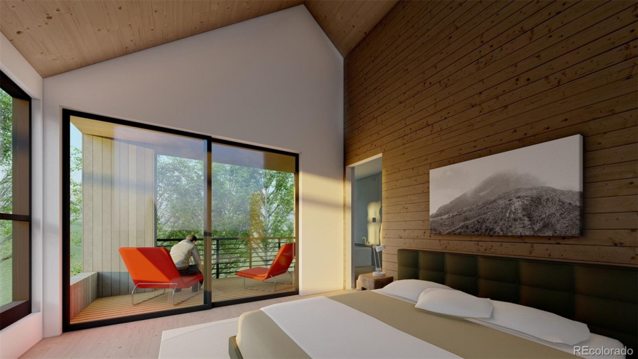 Master Bedroom. Renderings are general representation for marketing purposes only and subject to change.