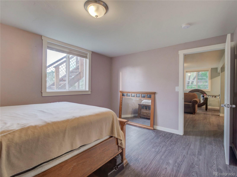 Lower Level Bedroom, off living room, with ensuite full bath