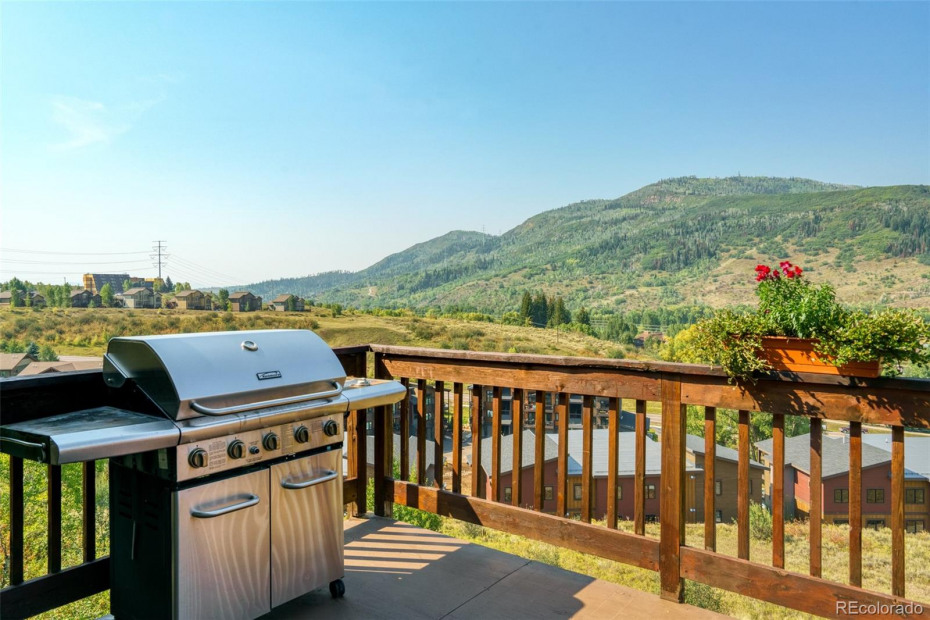 Plenty of space to grill and dine