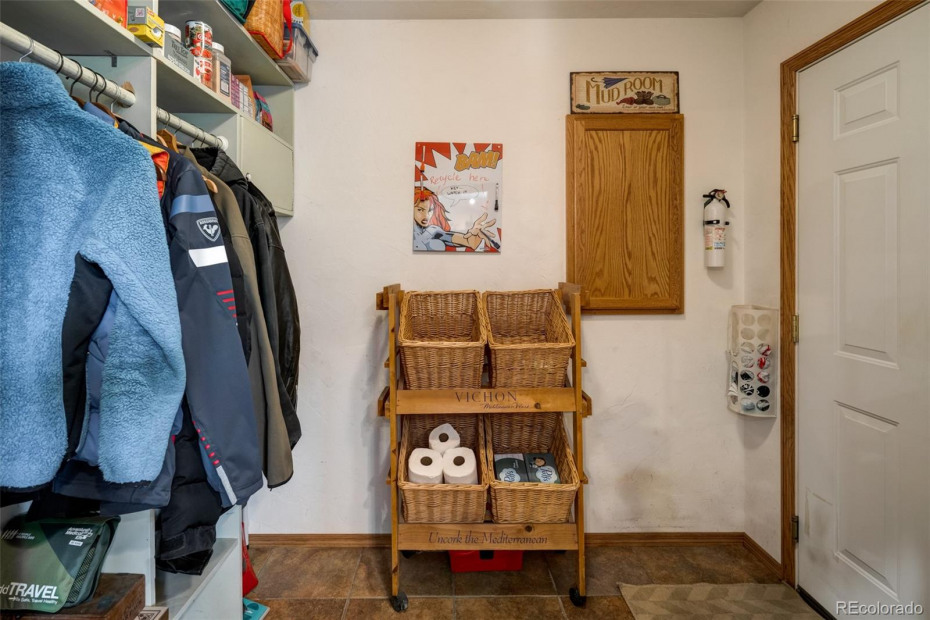 Nice to have a mudroom right off the garage.