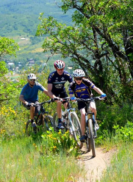 Mountain Biking on Emerald Mountain
