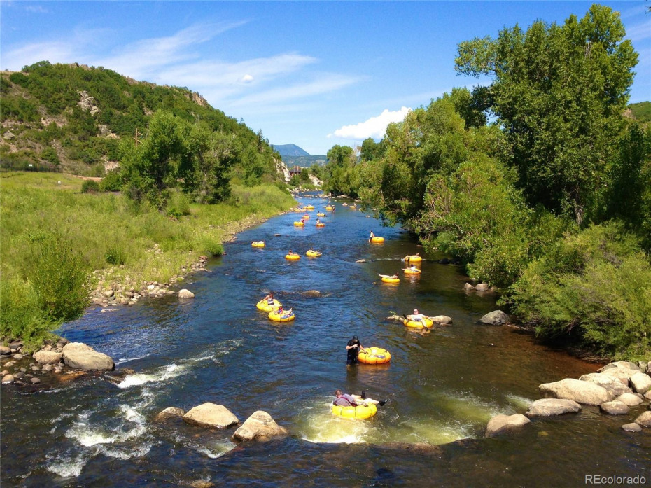 Recreating on the Yampa River