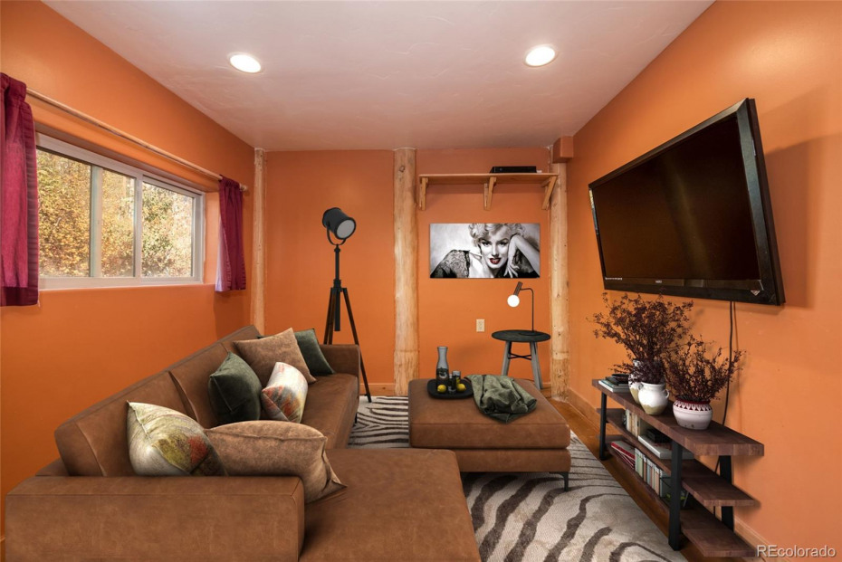 Virtual staging presents the property's potential