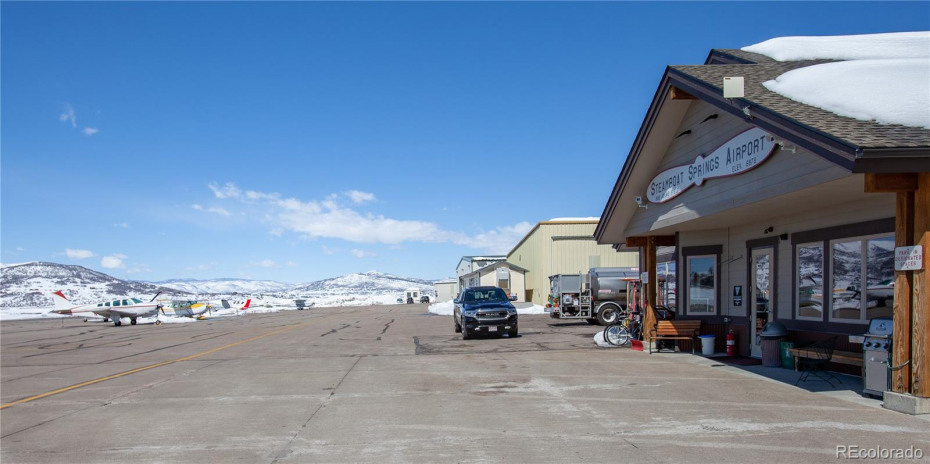 Across the Street from Steamboat Springs Airport