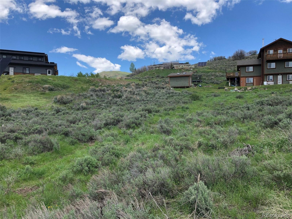 Mixed with sagebrush and grass.