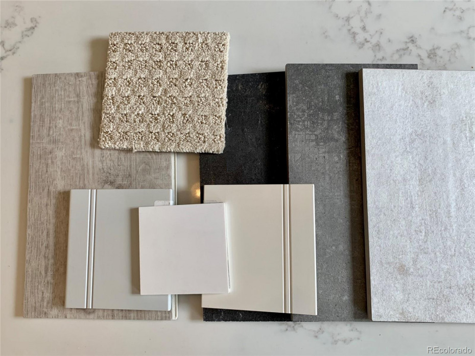 These are samples of the finishes that have been selected by the Builder for this home. As of 3/25/2020 the cabinets have been ordered, no change options. Other finishes can be changed if contract brought by 4/1/2020.