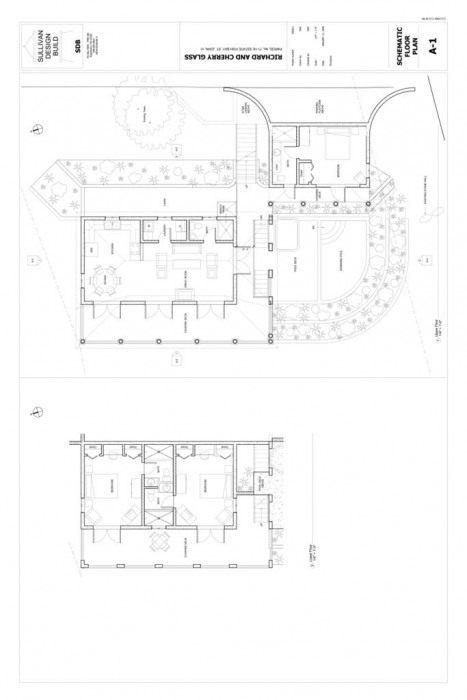 Preliminary home floor plans