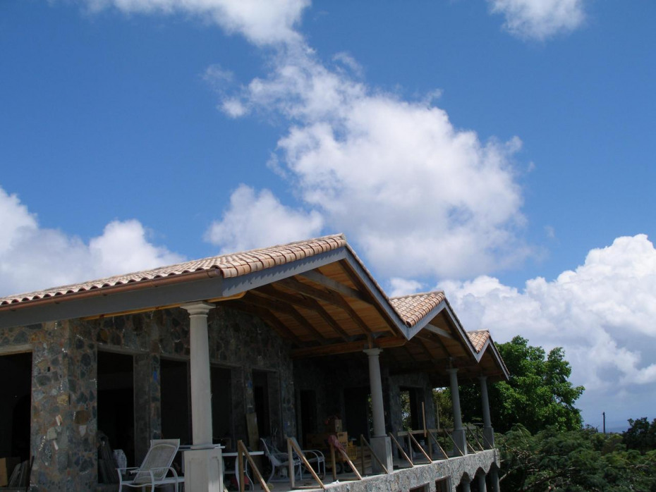 New French tile roof & roofline