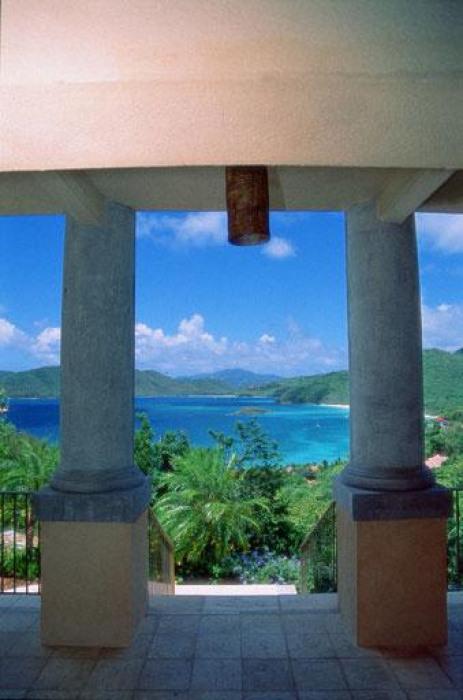 View between columns