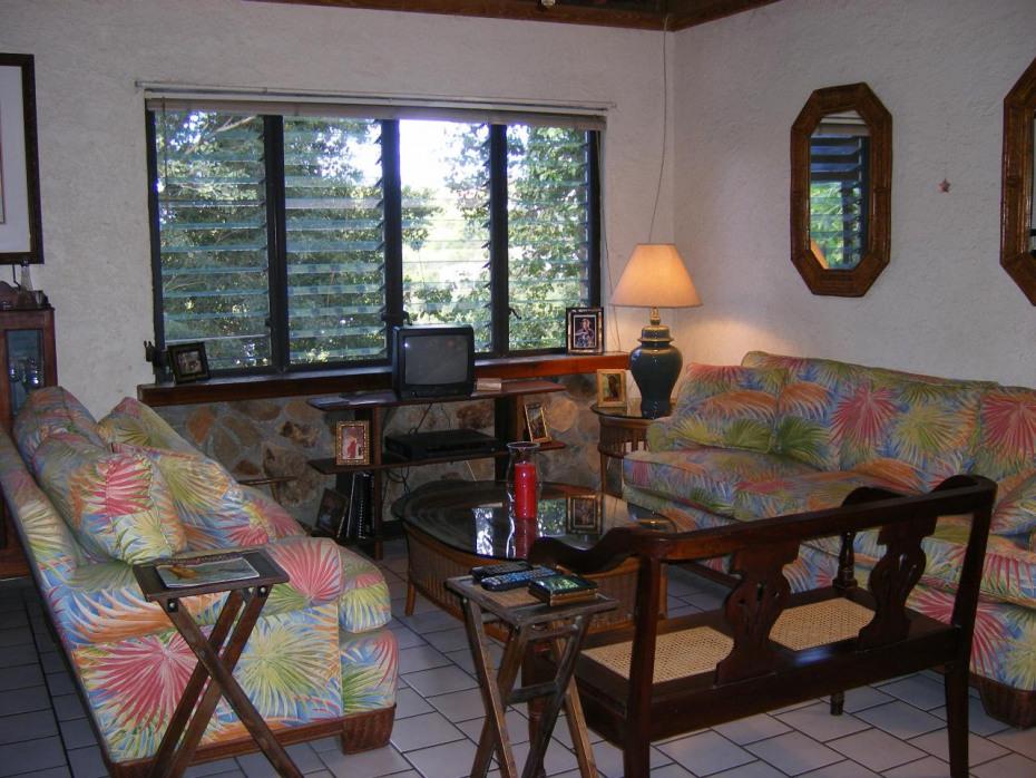 Interior living area