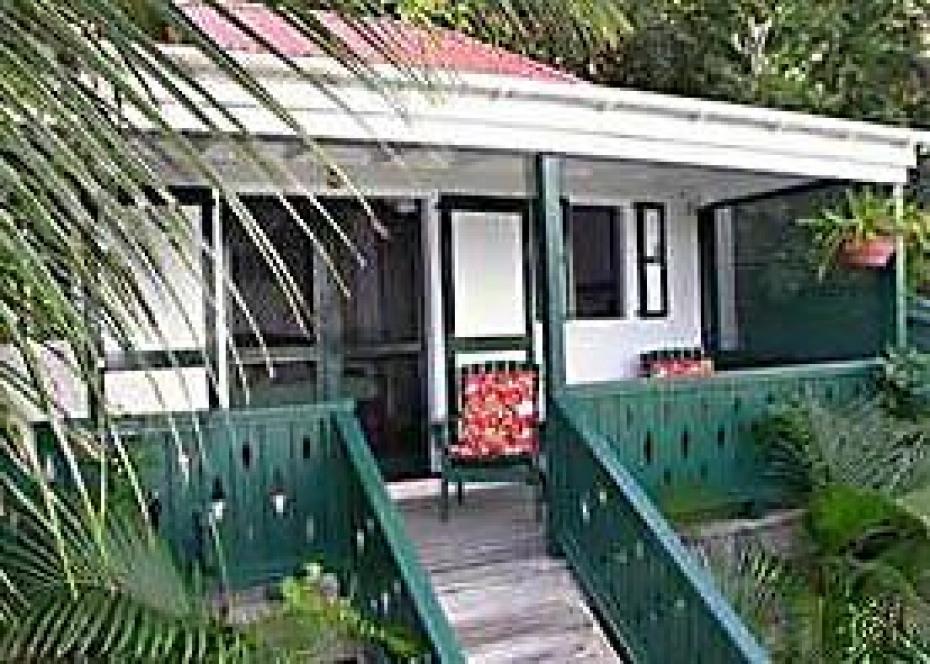 Windwardside Guest Cottage exterior