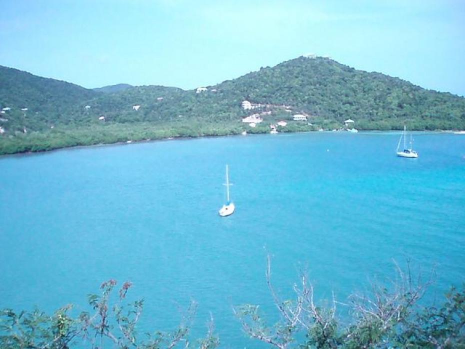 Waterfront views of Fish Bay