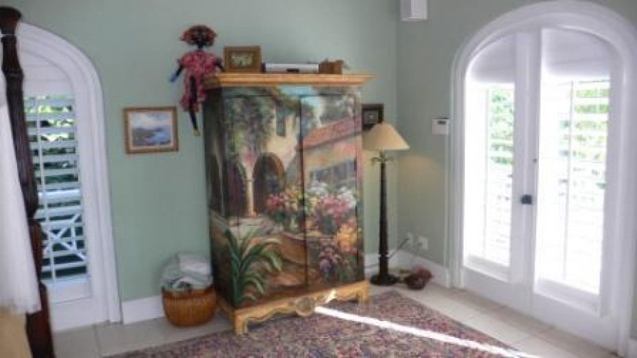 Master Bedroom TV Armoire