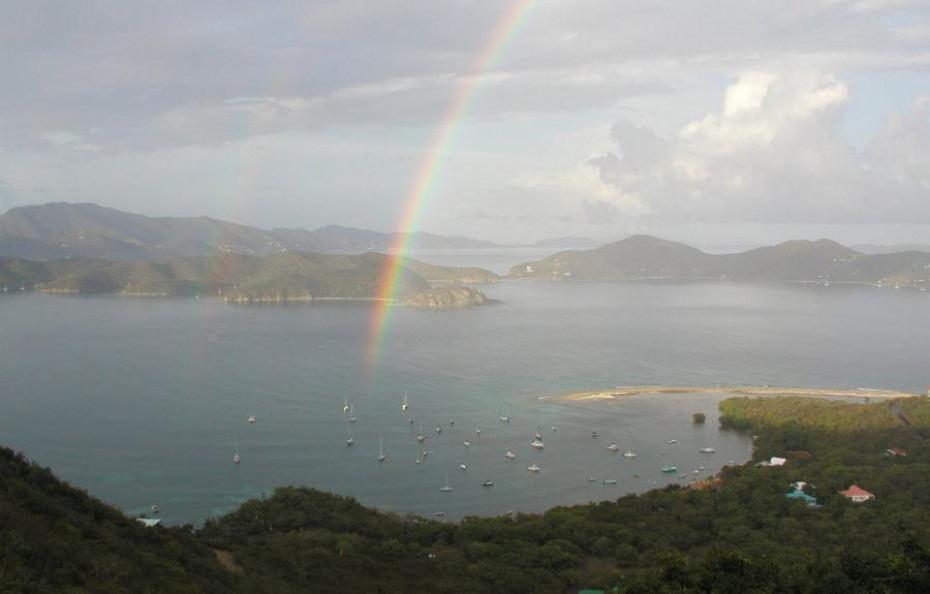 RAINBOW OVER JOHNSON BAY
