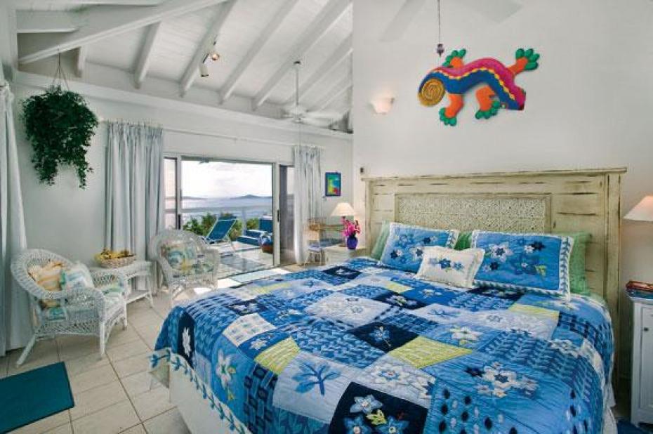 Guest cottage interior