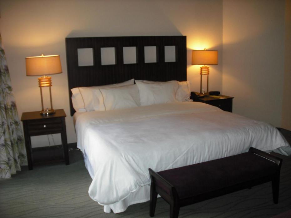 Upgraded bedroom