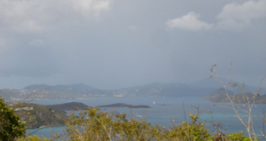 VIEW OVER PETER BAY TO ST THOMAS