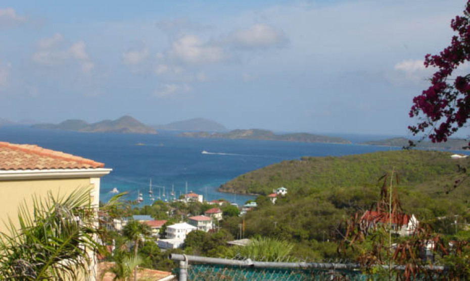 VIEW TO ST THOMAS AND THATCH CAY