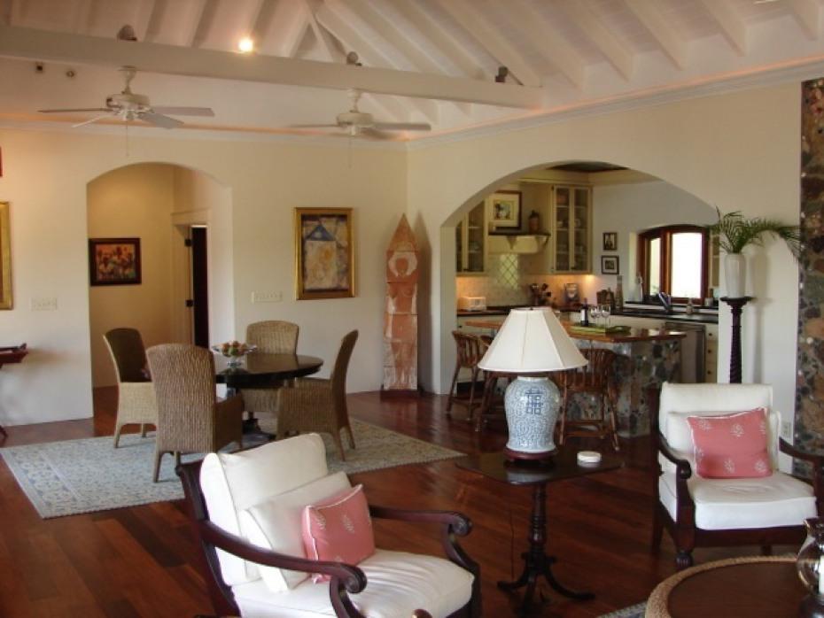 Great Room w/Hardwood Floors Throughout