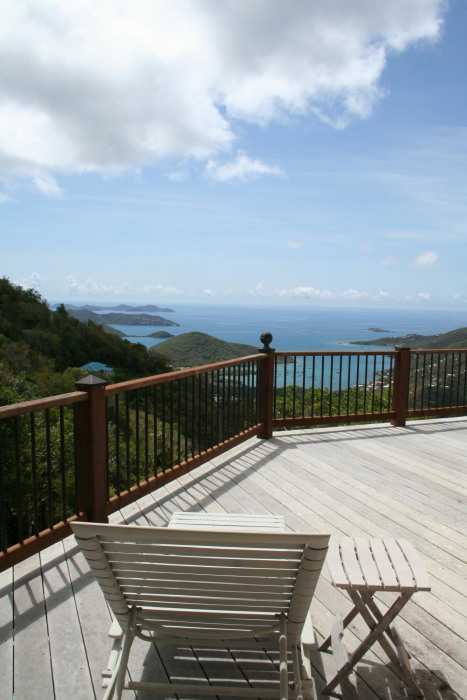 Upper Deck View to Norman Island