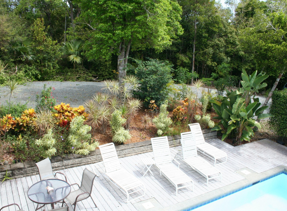 Pool Deck and Grounds