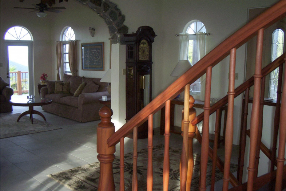 View to the Upper Living Area