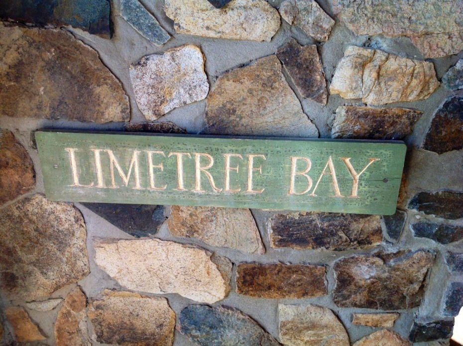 Lime Tree Bay Sign