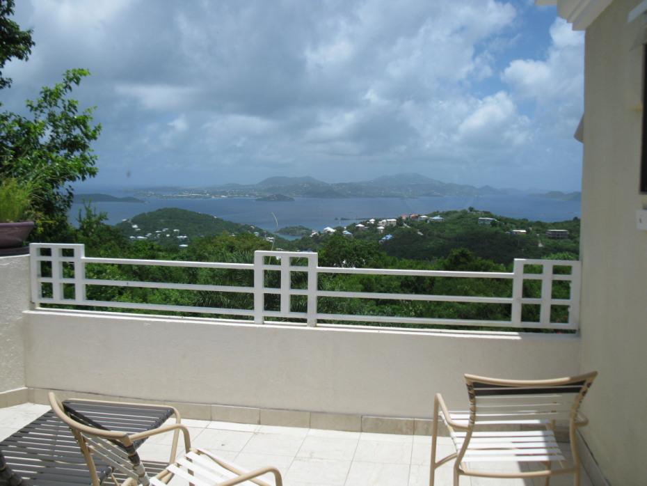 View from bedroom veranda